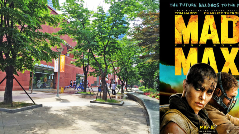 City 7 and Mad Max, Changwon City, South Kroea